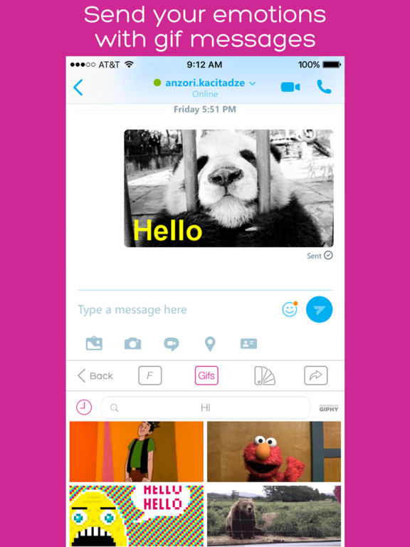 Keyboard Skins for iPhone and iPad -  With Gif, themes and emoji screenshot