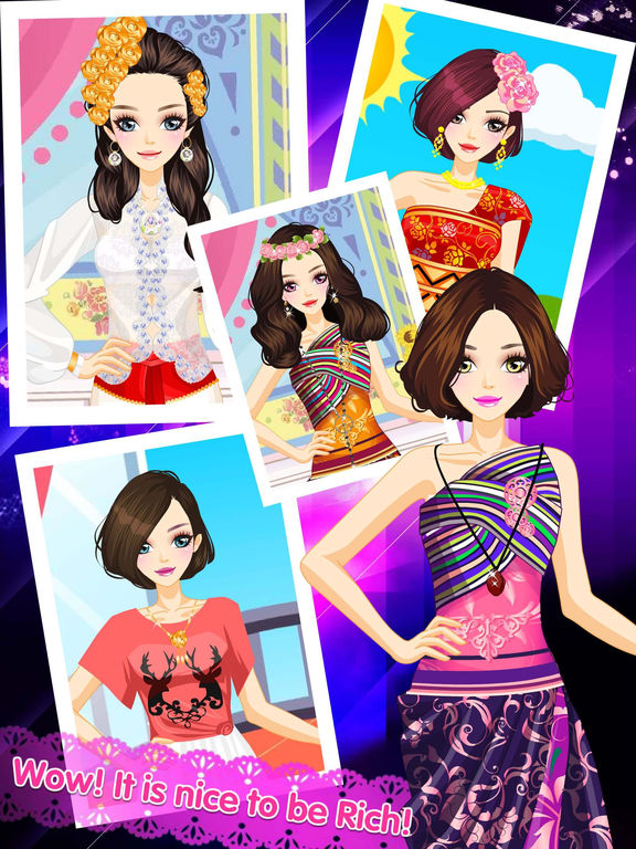 App Shopper Anime Beauty Distinct Fashion Angel Makeover Makeup And Dress Up Game For Girls