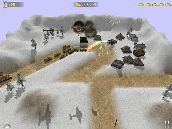 Concrete Defense – World War2 TD Tank Game Screenshots