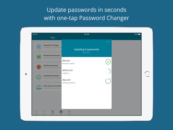 Dashlane - Free Secure Password Manager & Digital Wallet screenshot