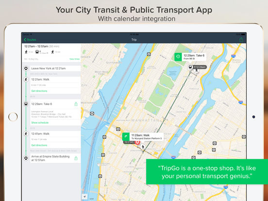 TripGo: City Transit screenshot