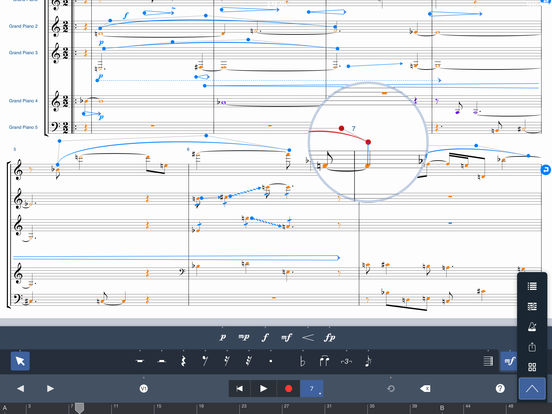 Symphony Pro iPad Screenshot 4