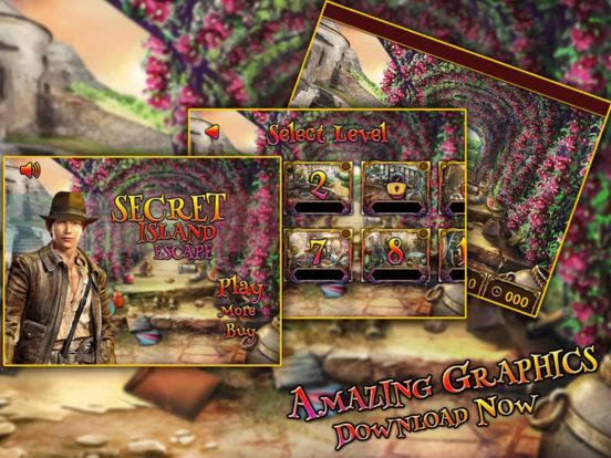 App shopper secret island escape games for Secret escape games