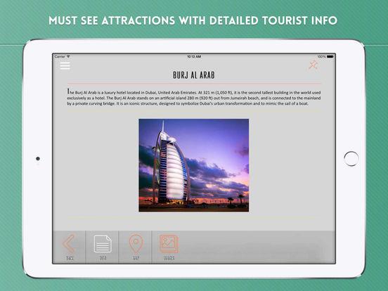 Dubai Travel Guide iPad Screenshot 3