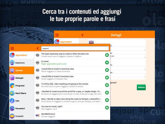 MosaLingua Inglese : Imparare e Memorizzare l'Inglese rapidamente (Italiano ► Inglese) iPad Screenshot 4