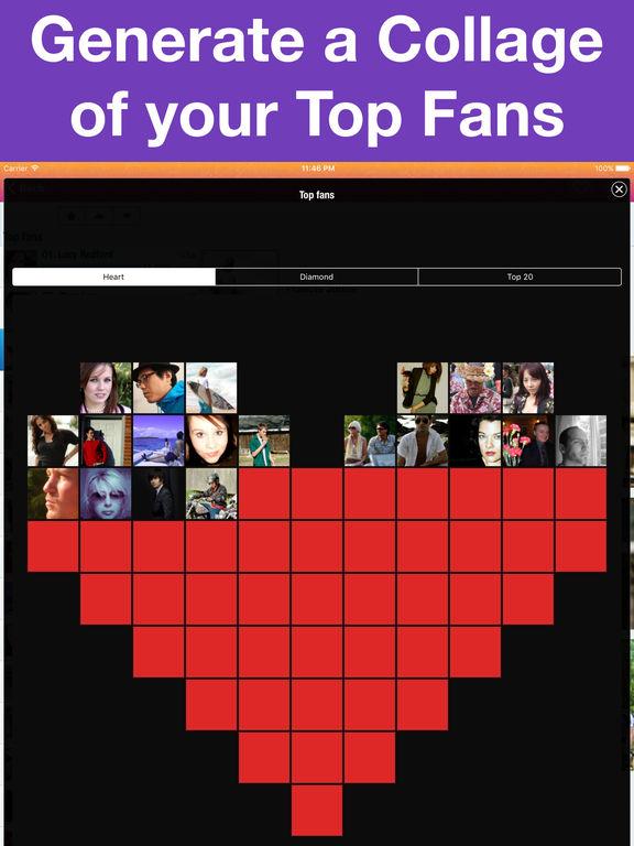 MyTopFans Pro for Instagram - Track followers Screenshots