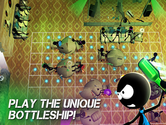 Sticked Man bOttleship - Disco Fight Deluxe Screenshots