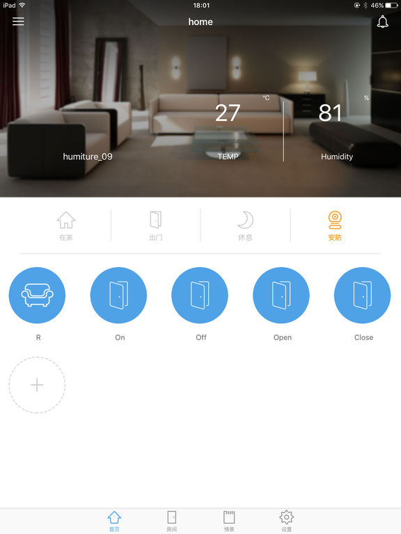 zigbee smart home on the app store. Black Bedroom Furniture Sets. Home Design Ideas