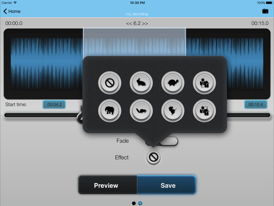 MP3 2 Ringtone GOLD iPad Screenshot 3