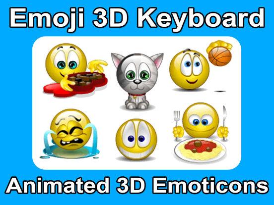 Animated 3D Emoji Emoticons screenshot 6