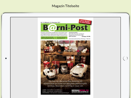 Barni-Post iPad Screenshot 3