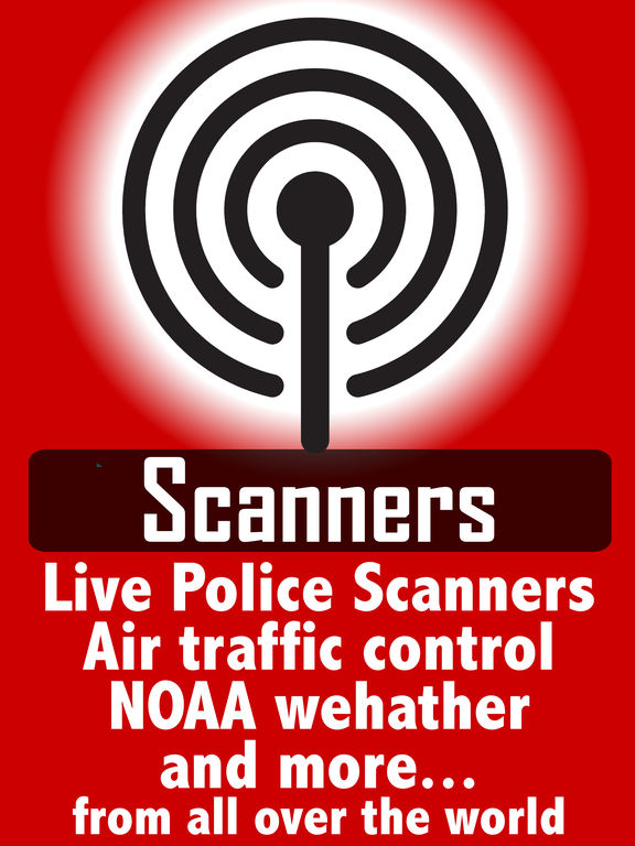 Police radio scanners plus ATC & weather scanner Screenshots