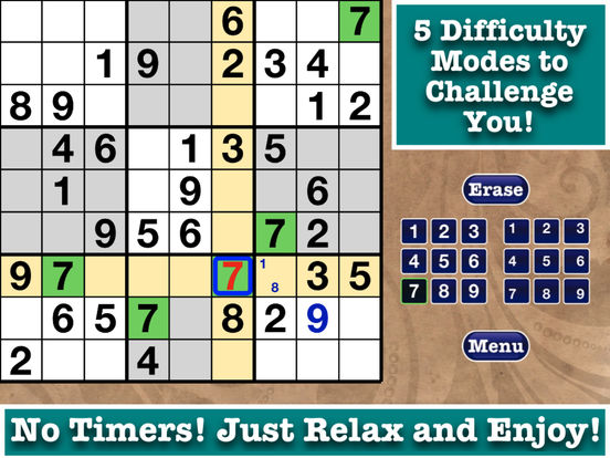 FREE Sudoku Pen & Paper Book with 200,000 Puzzles! screenshot