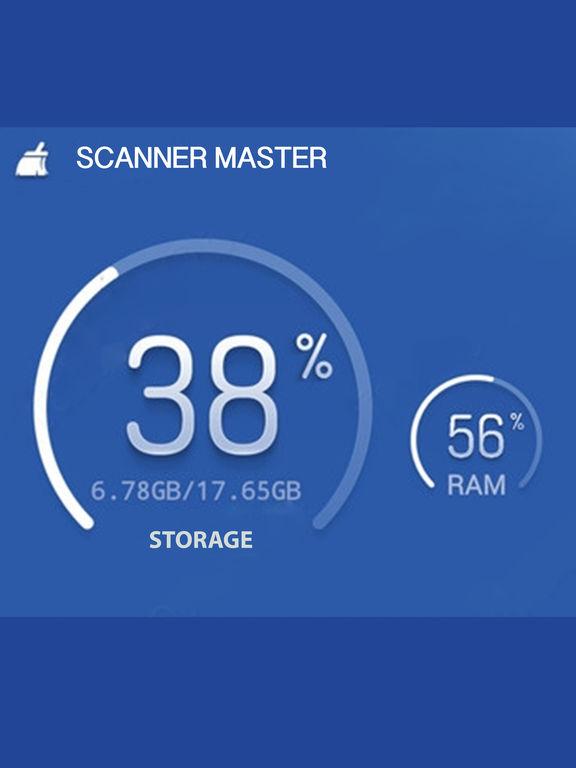 Pro Scanner System - Scanner Disk & Memory Screenshots