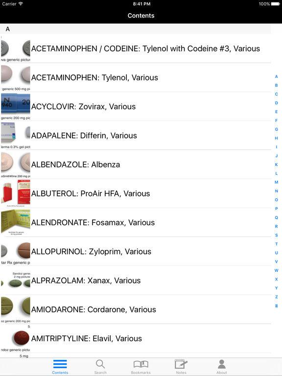 Lange Top 300 Pharmacy Drug Cards 2014-2015 screenshot