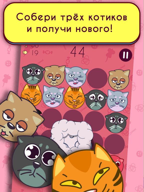 Скачать Котики! Merged cats get angry!