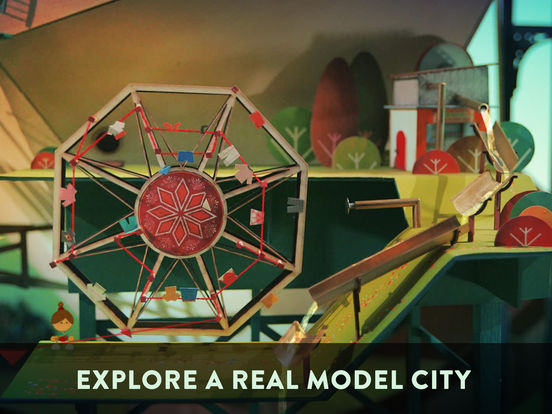 Screenshots of Lumino City for iPad