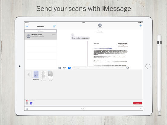 FineScanner Pro scan & recognize doc to PDF or JPG Screenshots