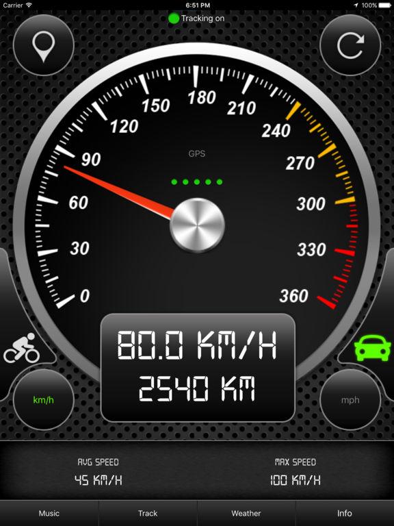 Speedometer HD PRO (GPS Speed Tracker) Screenshots
