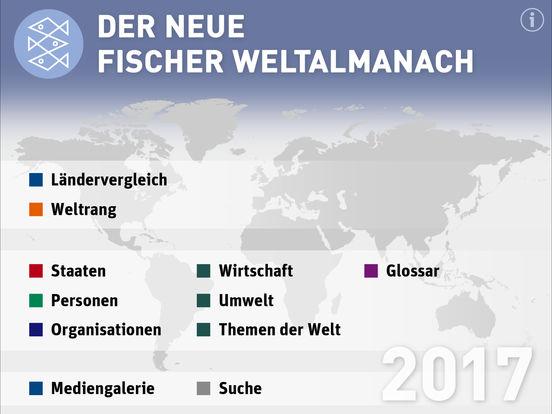 Fischer Weltalmanach 2017 – Zahlen Daten Fakten Screenshots
