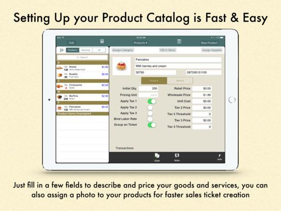 Ring It Up HD: Invoicing POS iPad Screenshot 3