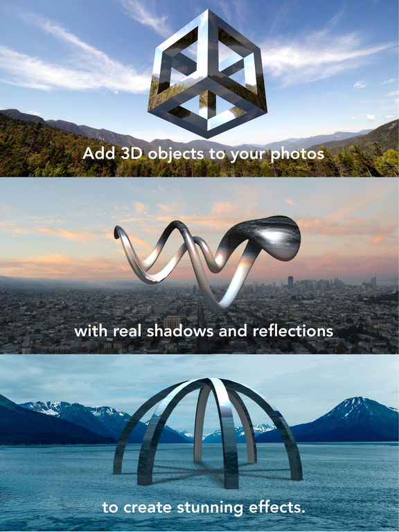 Matter - Create and design 3D effects with photos Screenshot