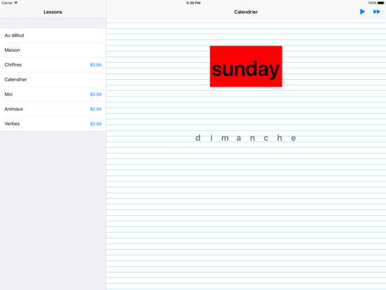 iSpell French iPad Screenshot 2