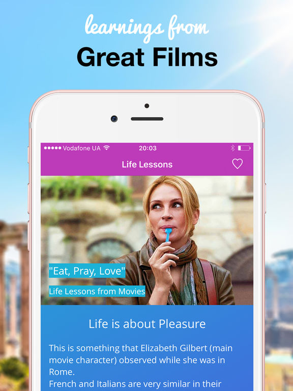 App Shopper Life Lessons And Quotes People Movies