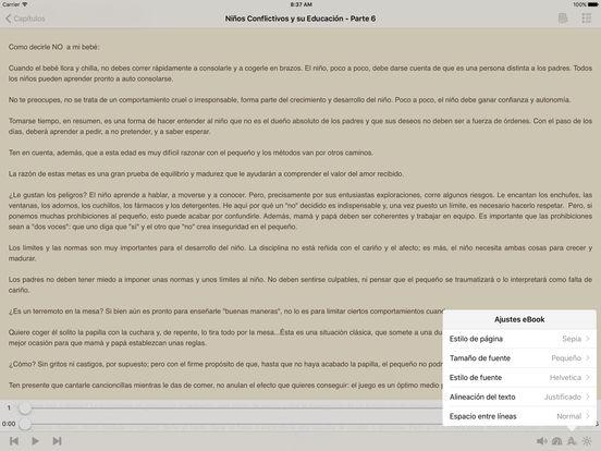 Niños Conflictivos y su Educación - AudioEbook iPad Screenshot 1