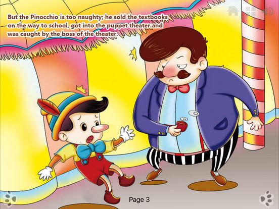 iBigToy-Pinocchio's Daring Journey HD Lite iPad Screenshot 4