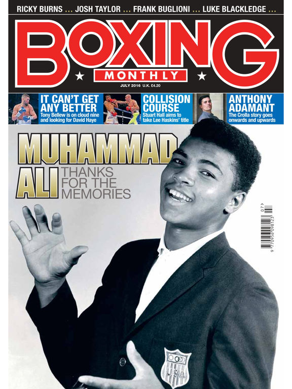 Boxing Monthly Magazine - The boxing magazine for fight fans around the world screenshot