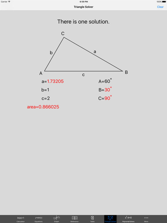 Free Graphing Calculator screenshot