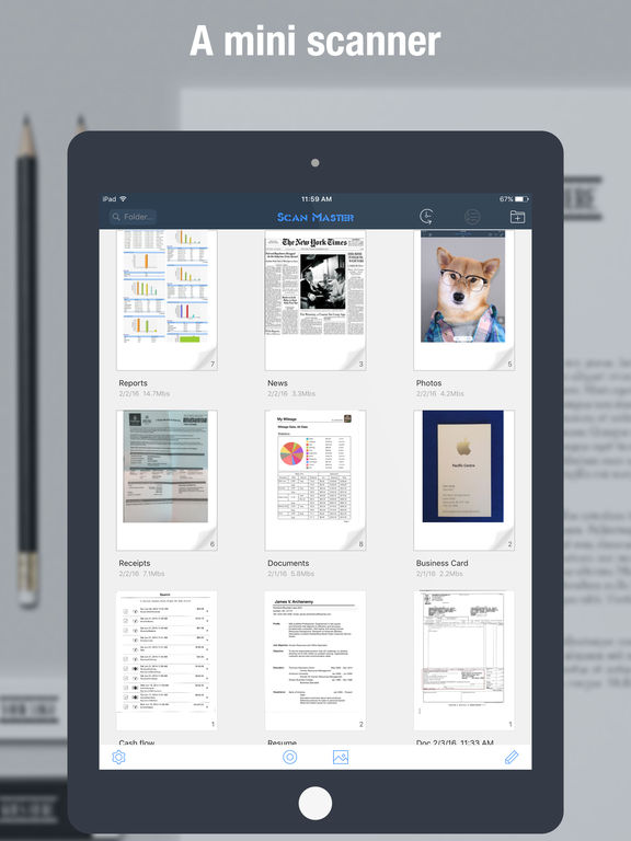 Scan Master Pro - PDF Scanner to Scan Docs & Cards Screenshots