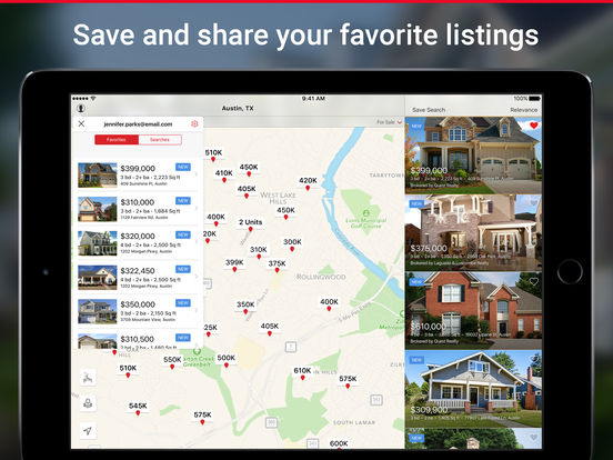 realtor.com real estate - homes for sale and rent screenshot