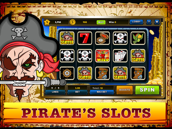 Lucky Pirate Slots Review & Free Instant Play Game