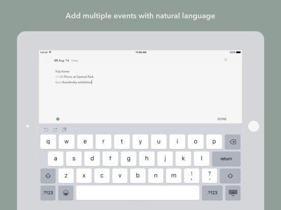 Unlabeled Calendar - Notepad calendar app Screenshots