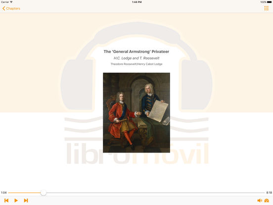 Hero Tales from American History - AudioBook iPad Screenshot 1