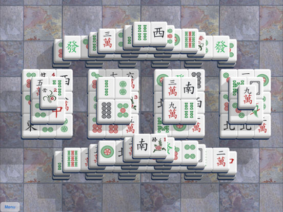 Classic Mahjong iPad Screenshot 1