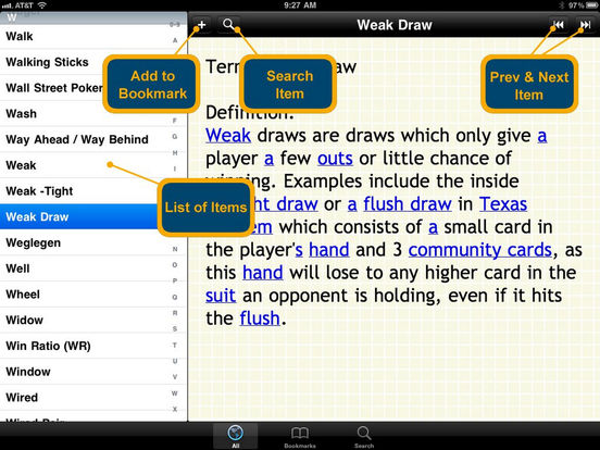 texas holdem terms