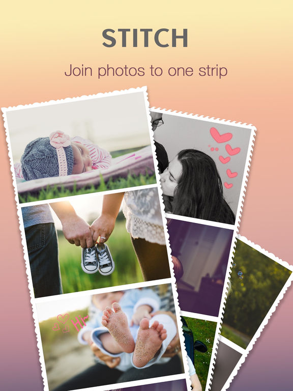 InstaCollage Pro - Pic Frame & Photo Collage & Caption Editor for Instagram FREE screenshot