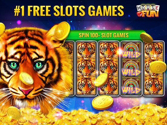Screenshots of House of Fun – Vegas Casino Free Slots for iPad