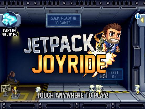 Screenshots of Jetpack Joyride for iPad