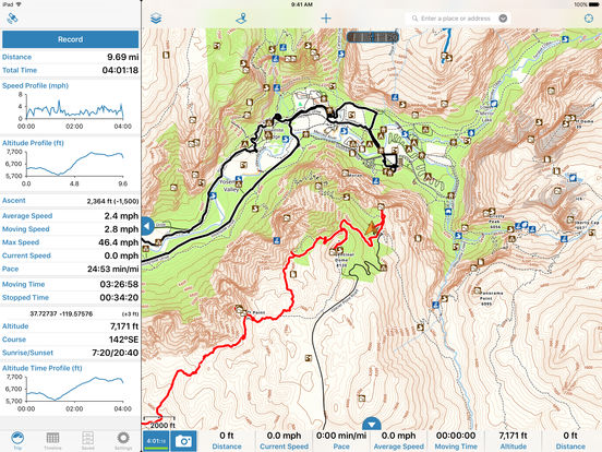 Gaia GPS - Topo Maps, Trails, and Tracker for Hiking, Biking, Camping, and Hunting Offline screenshot