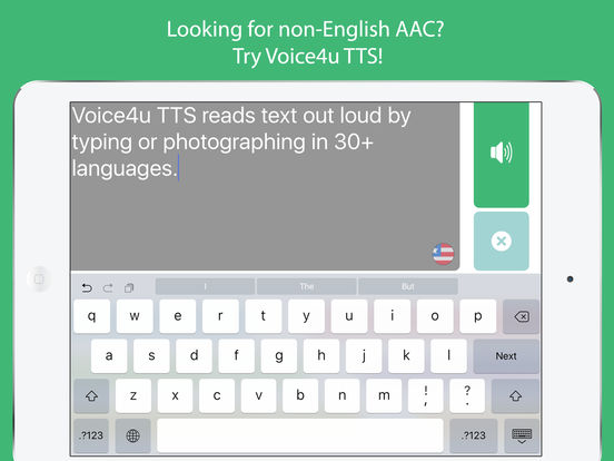 Voice4u TTS - Type or OCR to Talk in 30 Languages Screenshots