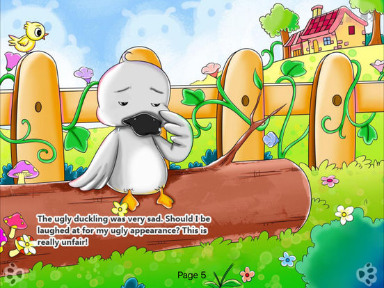 iBigToy-The Ugly Duckling HD iPad Screenshot 2