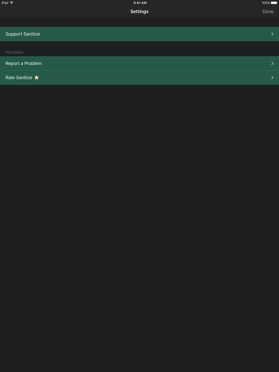 Sanitize — Ad Blocker and Web Sanitizer screenshot
