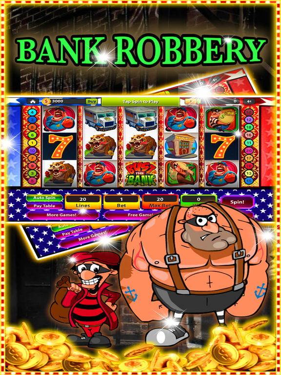 Bank Robbery Slot Machine - Play Online Slots for Free