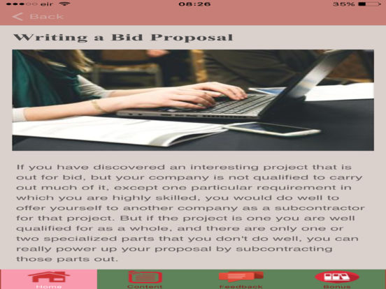 how to write a professional proposal