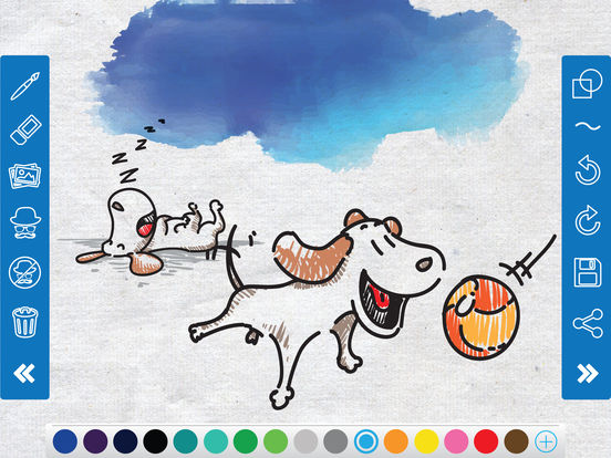 Doodle Art - Drawing, Painting & Sketch.ing Canvas screenshot