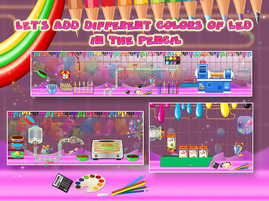 App Shopper: Color Pencil Factory – Make pencils with ...